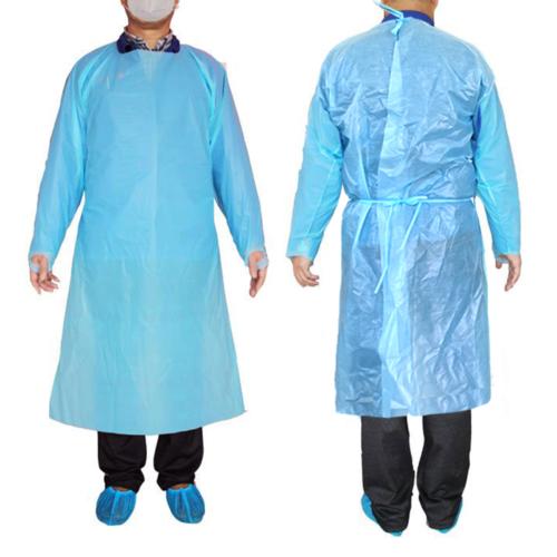 Medical Isolation Gown - Full Back (Impermeable Polypropylene)